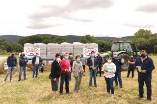 12.000 litros de leche solidaria desde Rodeiro para familias en dificultades
