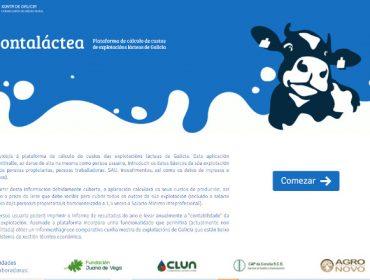 Ya está disponible «Conta Láctea», la herramienta que ayudará a profesionalizar las ganaderías de vacuno de leche de Galicia