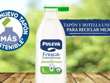 Lactalis elige España como primer país para probar sus nuevos tapones adheridos a las botellas