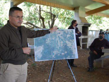 Proyectan recuperar 22 hectáreas de tierra abandonada en Monterrei para dedicarlas a viñedo