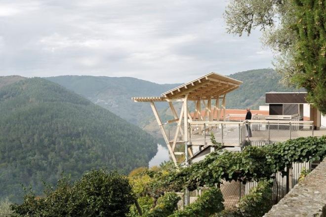 Miradoiro da Cova, un caso de éxito en el uso de la madera como solución constructiva