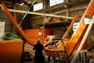 Construcción naval en madera para impulsar una industria forestal sostenible