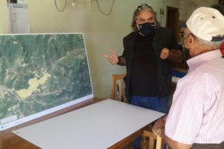 La Xunta proyecta un polígono de 94 hectáreas en Riós para cultivo de castaños