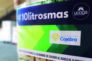 Ucoga dona 740 litros de leche en nombre de Cojebro